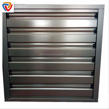 stainless blade 1000 type industrial equipment ventilation exhaust fan and cooling pad in greenhouse , polutry farm