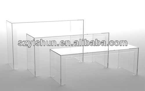 Manufacturing customized clear acrylic furniture