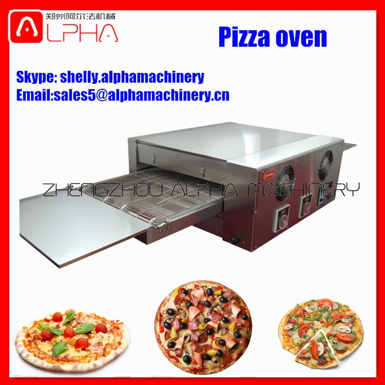 Whosale pizza conveyer oven pizza baking machine manufacture