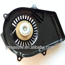 Black color Gasoline generator spare parts recoil starter assembly