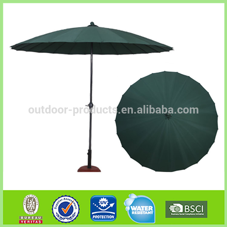 Sun and rain Sun protection Aluminum Straight cheap umbrella
