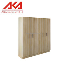 2016 hot sell oak veneer wardrobe bedroom furniture design