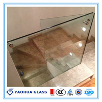 3-19mm tempered glass toughened glass with CE Australia ANSI Z97 Standard