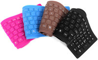 Bluetooth wireless silicon silent keyboard