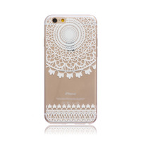 premium transparent tpu phone case for iphone 6 4.7 accept customize silicone shockproof cover