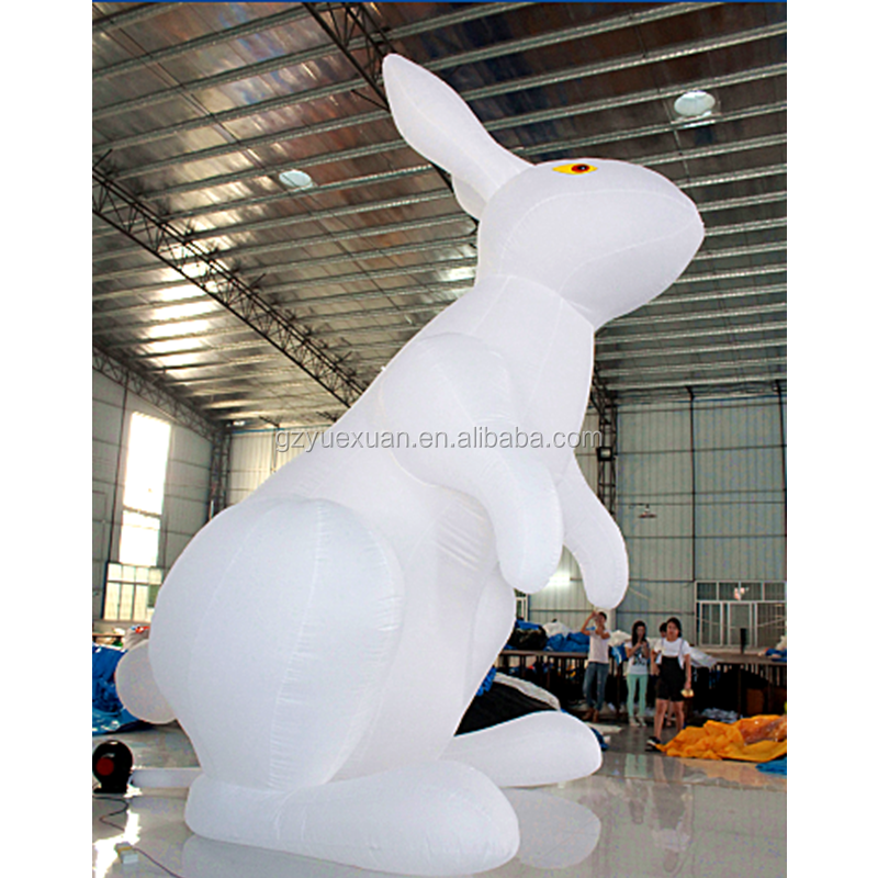 Custom advertising inflatable led rabbit/Giant inflatable led cartoon/inflatable bunny with led light for sale