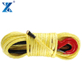 2017 J-MAX 16mm 100% UHMWPE fiber atv synthetic winch rope qingdao