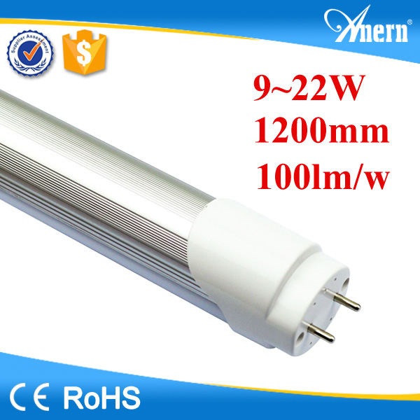 18w 1.2m high quality t8 red tube tuv tube led tube 8tube