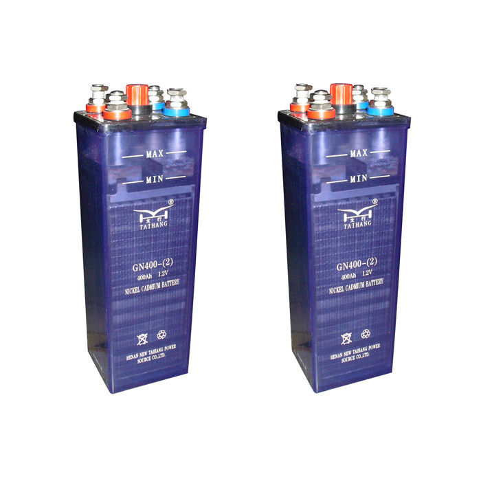 400ah NICD Nickel Cadmium Battery for SOLAR and UPS
