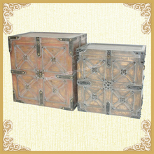 Wooden painted trunks kitchen high end trunks