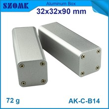 aluminium electrical project box and pcb enclosure for distribution and industry with smooth surface
