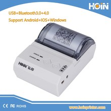 IOS, Android, Window mobile device 58mm Bluetooth thermal receipt printer