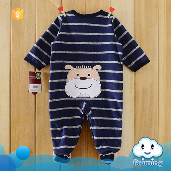 China supplier organic cotton baby winter rompers pictures arabic names for girls photo