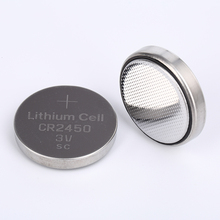 Cr2450 Button Cell 3v Lithium Battery Cr2450