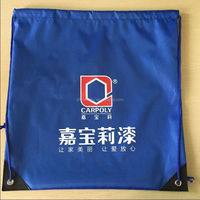 2015 Wholesale Nylon Polyester Drawstring Bag For Sports