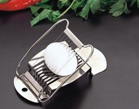 S/S 14.8*9.3*2.5 High quality kitchen gadgets stainless steel egg slicer