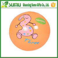 Non-toxic inflatable promotional pvc ball cartoon characters beach ball