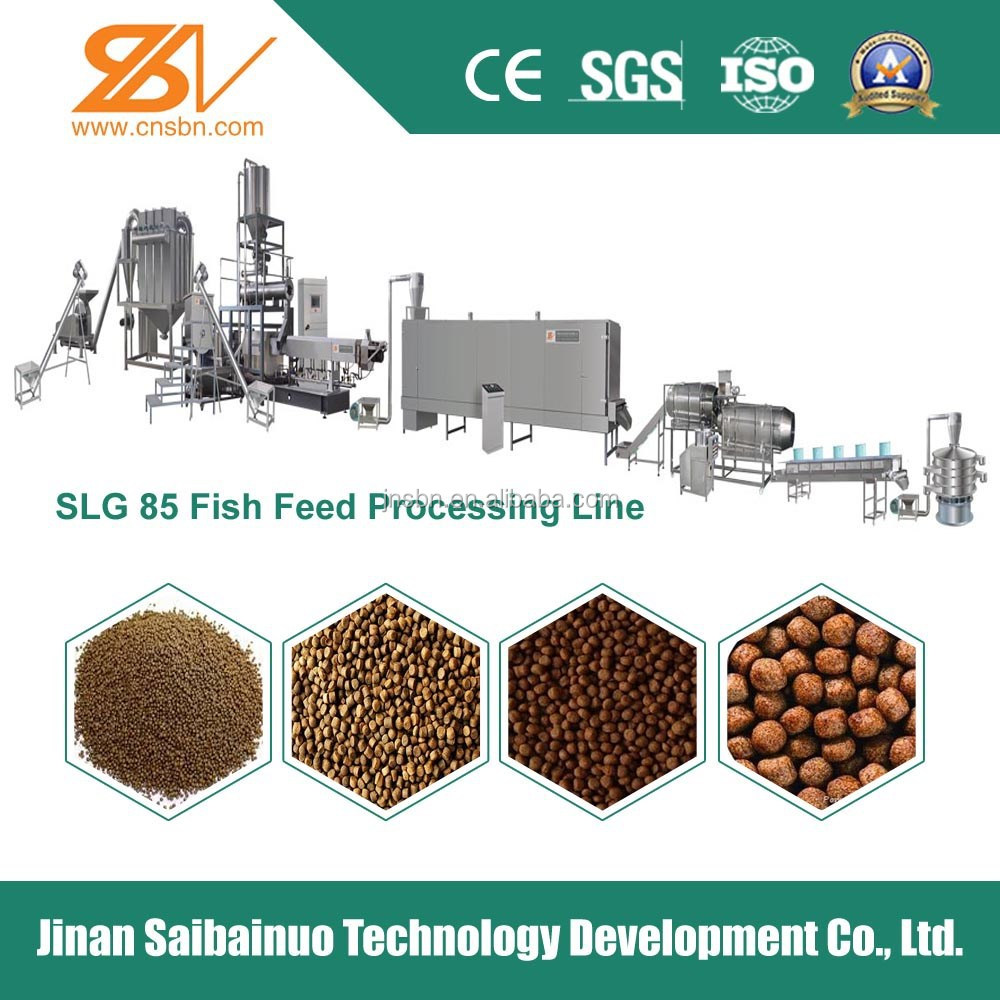 Automatic fish feed manufacturing machine