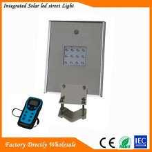 The lowest price led solar street light 100w lamp plant