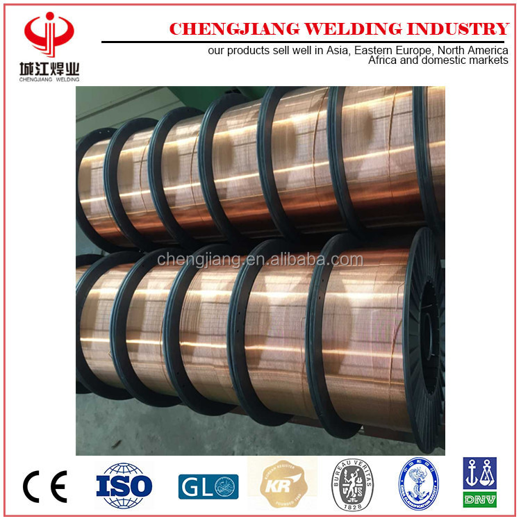 truck wheel co2 material mig solid welding wire A5.18 ER70S-6