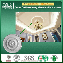 Quality Fiberglass Gypsum Round Ceiling Rose Lamp Disk Plaster Center Medallion