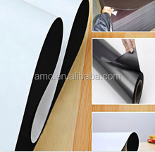 Double sided adhesive thin pvc laminated blank A4 soft whiteboard rubber material flexible fridge magnet roll magnetic sheet