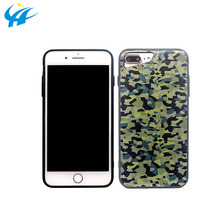 phantom camouflageTPU PC half phone case cover for 5.5inch cell phone custom