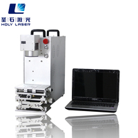 20W Portable fiber laser engraving machine for jewelry ring bracelet pendant