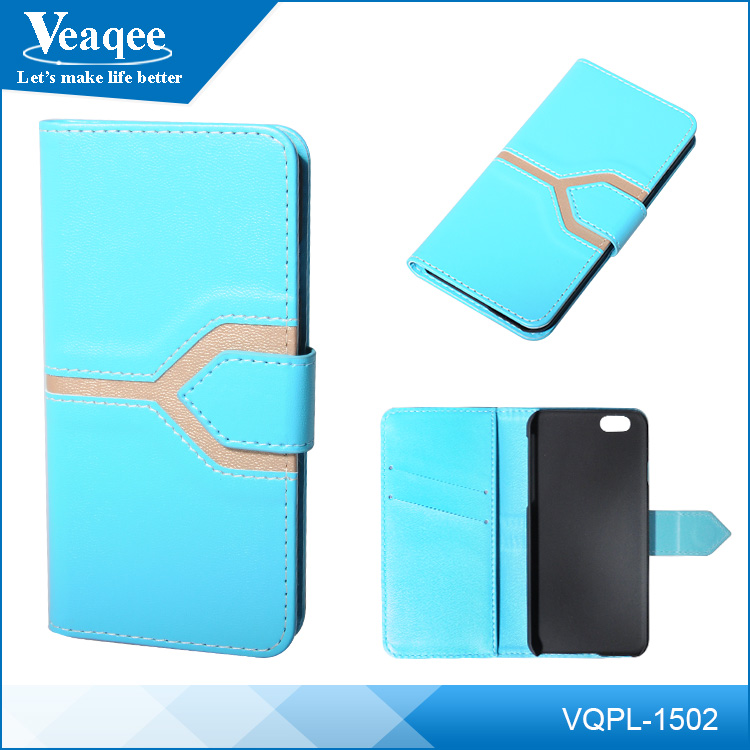 Veaqee 5.7 inch mobile phone case,leather universal flip phone case,wholesale mobile phone case