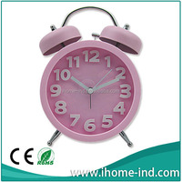 very qute quartz two bell table alarm clock