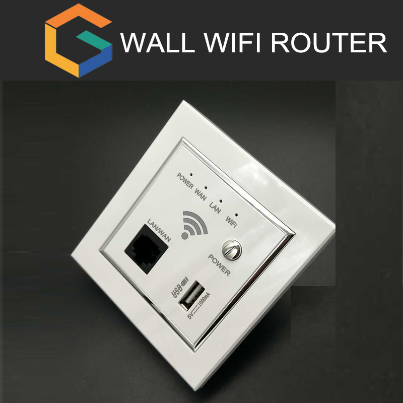 Inwall Ceiling wifi Router Ap Product, steady quality Wall Mounted Plug wifi ap poe router wall plate router