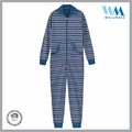 custom low price onesides family towelling blue jumpsuit for men