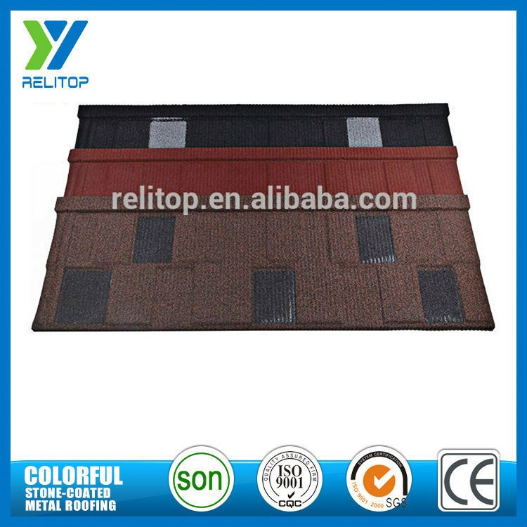 High Standard Sand Coated Lightweight Roofing Materials