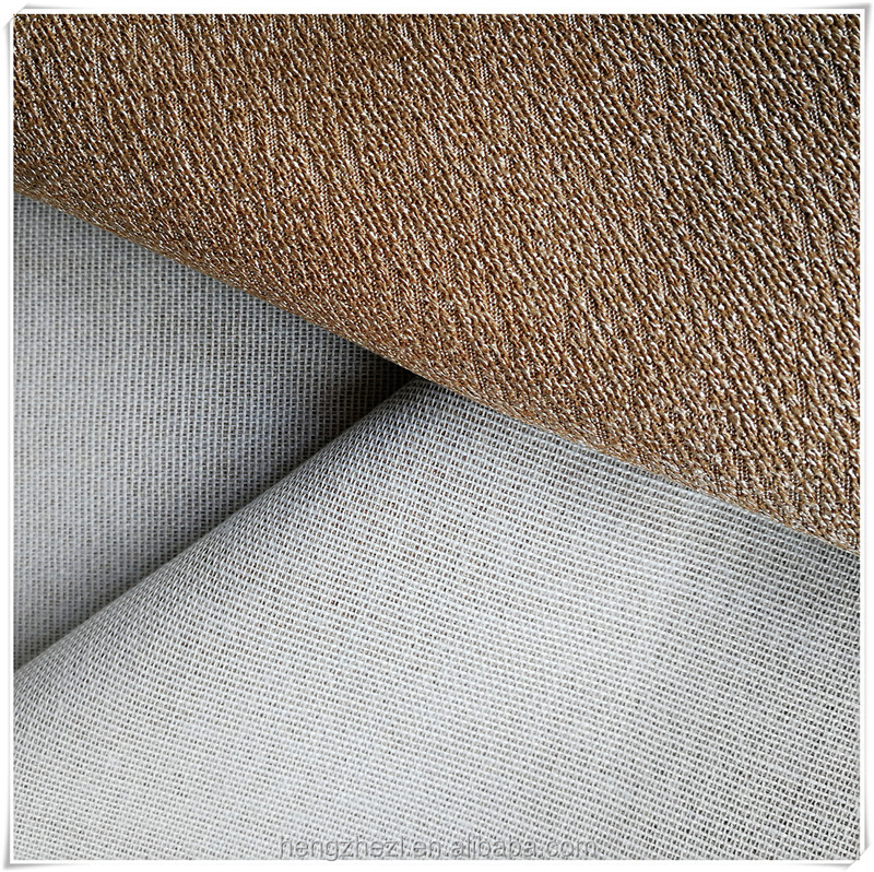 Polyester linen fabric used for morden sofa upholstery
