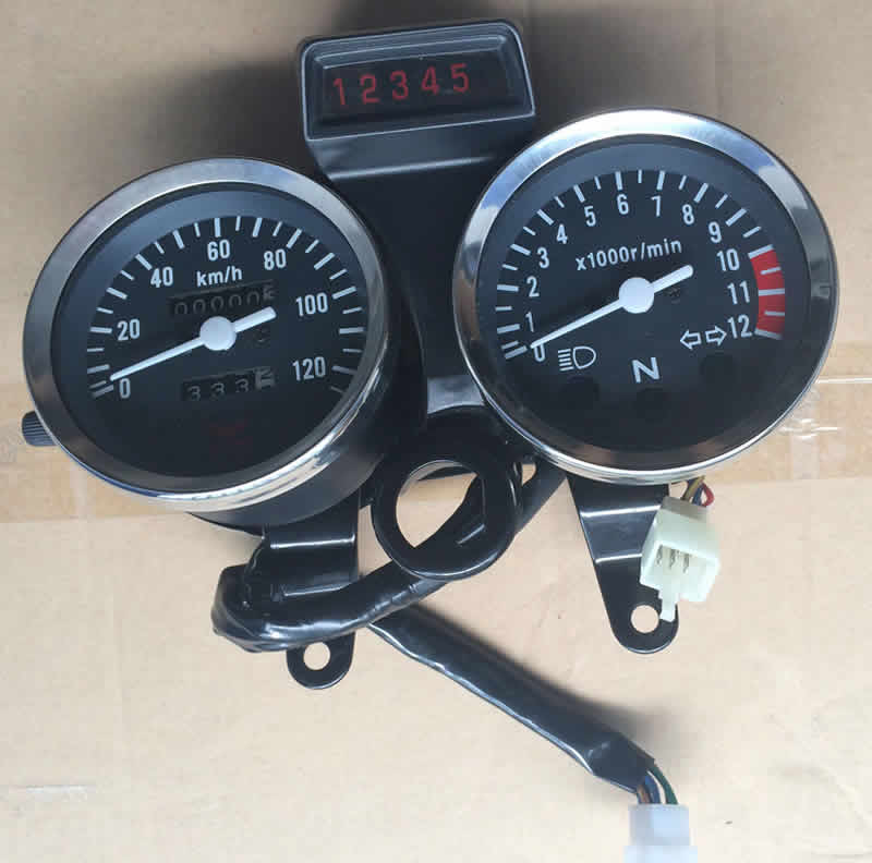 High Quality GN125 Motorcycle Parts Speed Meter