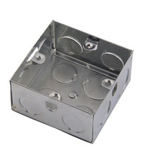 3*3 knockout galvanized metal switch box