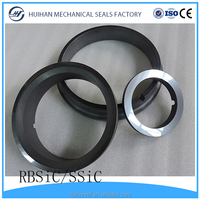 RBSiC SSiC Sintered Silicon Carbide shaft Seal Ring from china supplier