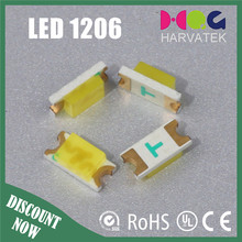 light emitting diode 1206 SMD white led