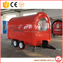Mobile Fryer Food Cart,bakery food cart trailer for sale,fast bbq food cart renting