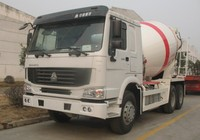 8CBM sinotruk howo 336hp concrete mixer truck for sale