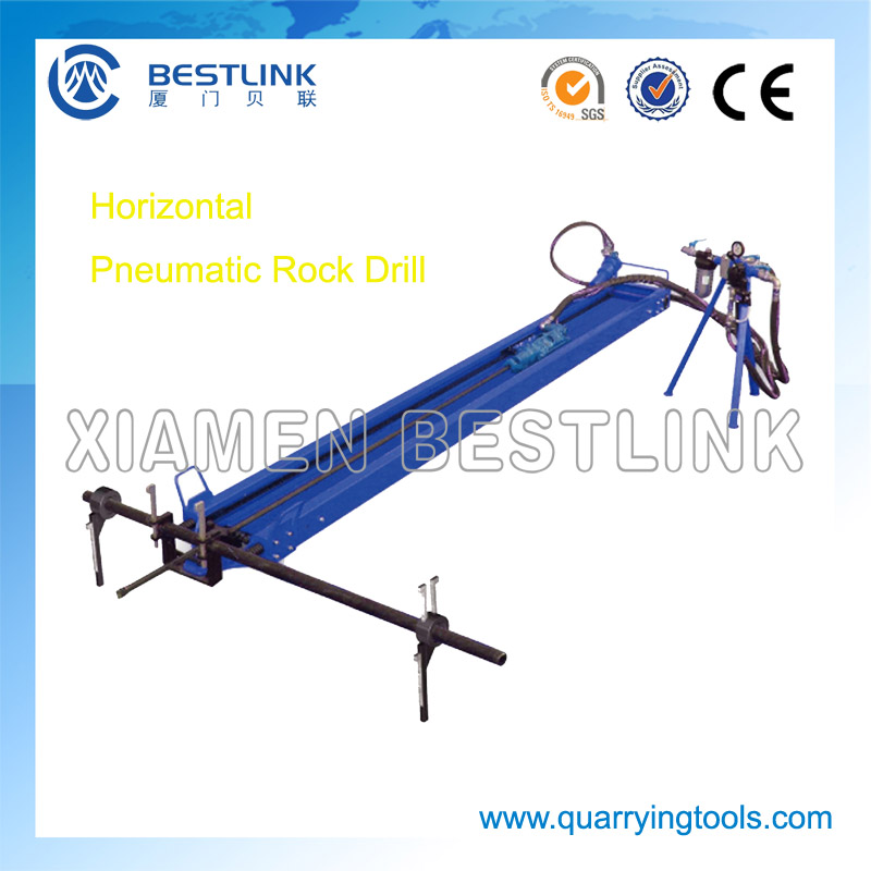 Dimensional Stone Quarry Heavy-weight Pneumatic Mobile Rock Drill