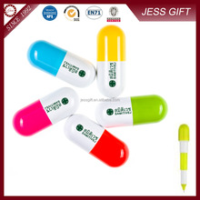 Hot products Pill Shaped Pen for promotional gift