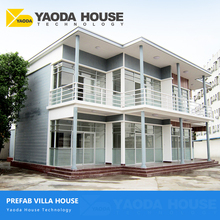 Prefab Villas Homes Prefabricated Houses Villas Energy Efficient Modern Design Prefab Concrete Sandwich Panel Villa