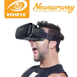 virtual reality 3D Plastic VR Glasses 3D VR Glass for Blue Film Vide Open Sex Video 2016 HOT Selling