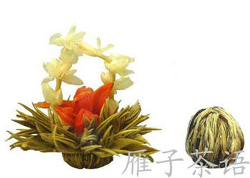 High Quality Artistic Blooming Flower Tea Balls