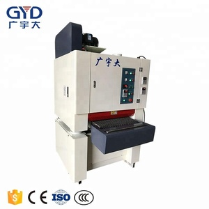 600mm automatic soft roll base-paint lacquered panel sanding machinery for bamboo-wood floor