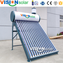 Painted color steel active closed loop solar water heater systems in good price
