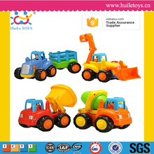 Huile toys cute plastic wholesale toy mini truck toy with ASTM