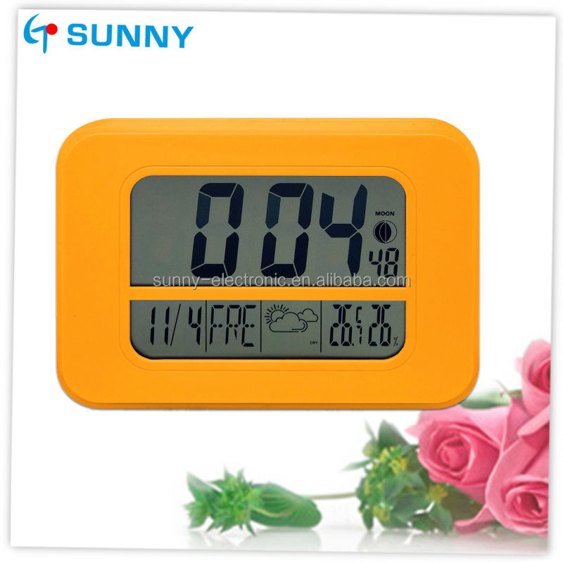Factory Directly Side Table Digital Alarm Clock