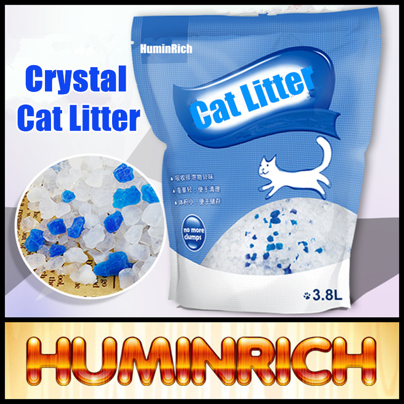 Huminrich Shenyang High Quality Odor Control Manufacturer Offer Silica Gel Kitty Litter Kitty Sand